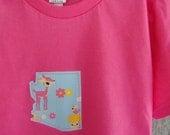custom state toddler tee or onesie bright pink 6-12-18 month  2 4 6 tee arizona california texas new york ohio florida