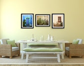 Save 15%, Southwest Photography Set, Three 8x10 fine art prints, Tucson Arizona, Window Door Cactus Photography, Western Art