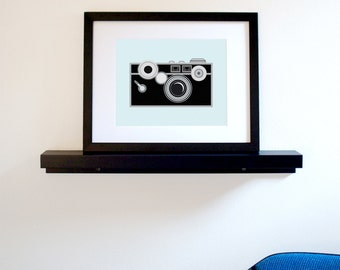 Old-School Camera Art Print - 8 x 10 (Free Shipping in US)