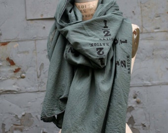 Scarves, Unisex  Green Scarf, Accessories, Women's Scarves