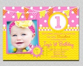 Sunshine Birthday Invitation Sunshine Birthday Party Invitation