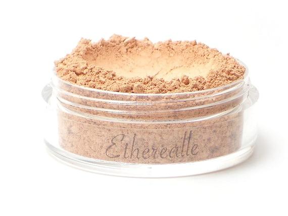 "Matte Light Peach Blush - ""Bakery"" (soft pale peach Net Wt 4.5g jar) - Vegan Mineral Powder"