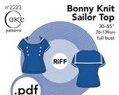 pdf Bonny Knit Sailor Top Cake Patterns RiFF Nº2223