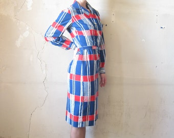 Macro Houndstooth Dress (S)