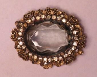 Vintage Kramer of New York Brooch Pendant (B-1-3)