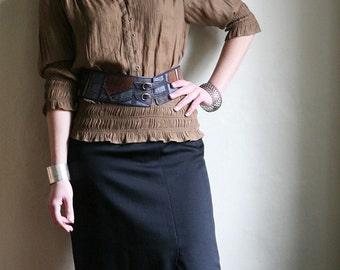 Black Maxi Pencil Skirt