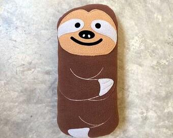 Sloth Toy, Sloth Cushion, Sloth Plush, Sloth Pillow, Huggable Sloth, sloth Plush toy, sloth soft toy - The Slothful One - Brown Sloth