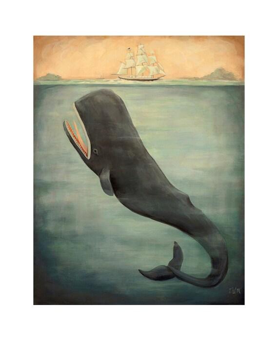 Leviathan Below / Large Print 11x14