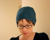 Bokeh Hat with Easy Swirl Design Knitting Pattern PDF