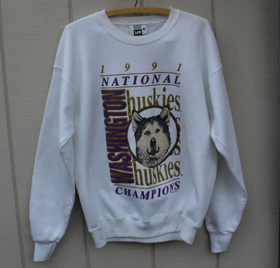 Vintage University Of Washington Sweatshirt 3