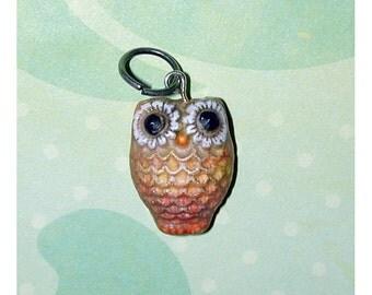 Adorable petite Handmade OWL Pendant