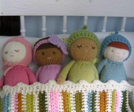 Amigurumi Knits Download : Amigurumi Knit Baby Doll Patterns Digital Download von ...