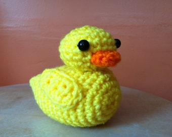 Crochet Rubber Duckie