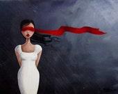 The Storm ORIGINAL 9x12 Acrylic Painting