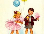 Its My Party Vintage Digital Download Printable Image (383)