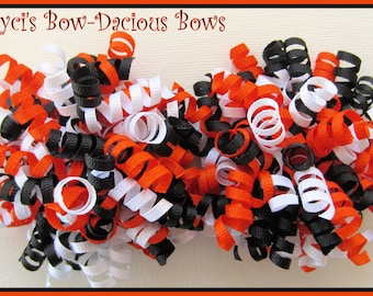 HALLOWEEN Petite Korker Set for baby, toddlers, girls, hair accessory, trick or treat, bows, International Shipping