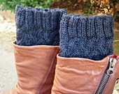 Boot Cuffs Knit Faux Leg Warmers Colours you choose custom made to order
