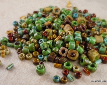 Toho Japanese Seed Beads Picasso Mix 8 gram