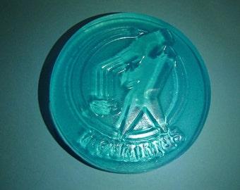 Blue Aquarius Sign Glycerin Soap