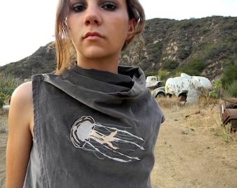 WINTER SALE 40% OFF Jellyfish Velveteen Vest