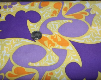 Mark Cesarik - Morning Tides - Scallop Leaves - MC11 Purple - One Full Yard