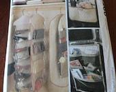 McCalls Crafts 8260 Organizers Garment Bag Shoe Bag Pattern