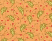 SALE - Honeysweet - Ginger Vine in Persimmon Orange: sku 20213-15 cotton quilting fabric by Fig Tree and Co. for Moda Fabrics - 1 yard