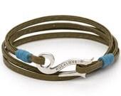 Sage Flintlock Bracelet in Sterling