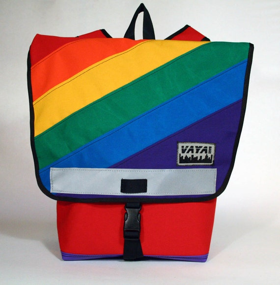 Colorful Rainbow Backpack