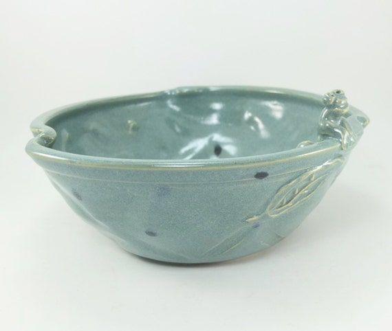 teal toad bowl