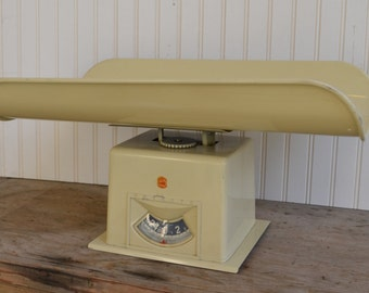 Vintage Beige Detecto Nursery Scale, Photo Prop,