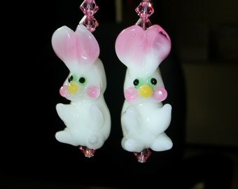 Bunny Earrings Rabbit Earrings