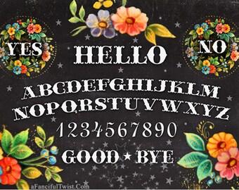 Floral Spirit Board- 5 Postcard Set