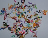 Embellishments hand punched 50 mini musical notes