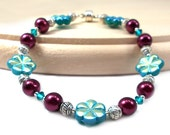 RED TAG CLEARANCE - Plus Size Bracelet, Winter Berry
