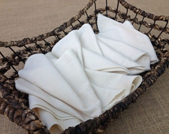 """kitchen unpaper towels or cloth napkins extra large size 14x14"""""""