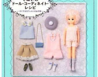 Doll Coordination Recipe Japanese Craft Book*