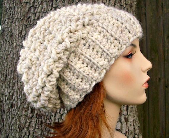 Free Crochet Hat Pattern Using Bulky Yarn : Instant Download Crochet Pattern Slouchy Hat Crochet Pattern