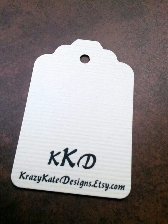 Personalized, 50 Business Tags, Baby Shower, Personalized Tags, favor card, custom printing