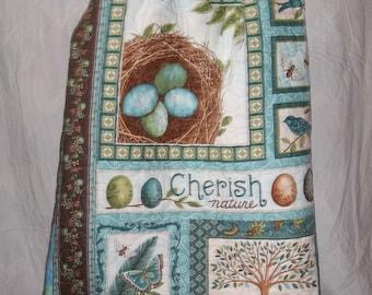 Patchwork Twin-size Quilt,Cherish Nature