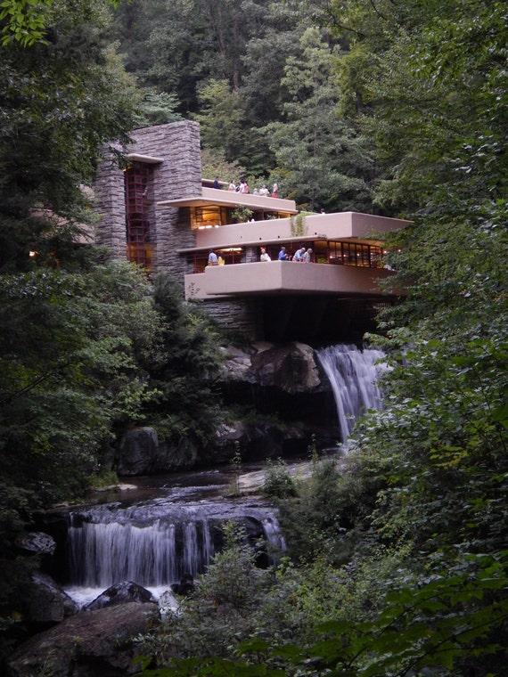 Frank lloyd wright s fallingwater mill run pa august 2013 classic