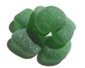 Emerald Green Sea Glass - Jewelry Quality Beach Glass Lot, For Art, Design, Mosaics, Seaglass Supplies