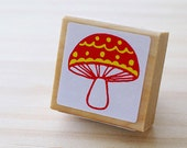 Nordic stamp - Lovely mushroom - Small size