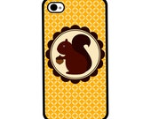 Phone Case - Squirrel - Hard Case for iPhone 4, 4s, 5, 5s, 5c, 6, 6 Plus - iPod Touch 4, 5 - Galaxy S3, S4, S5