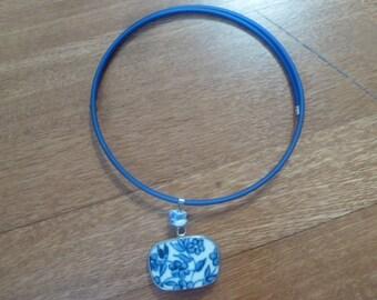 Ming Dynasty Pottery Shard Choker Necklace