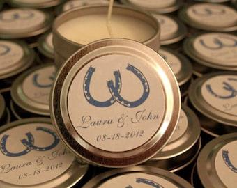 Wedding or Shower Favor Candle Sample