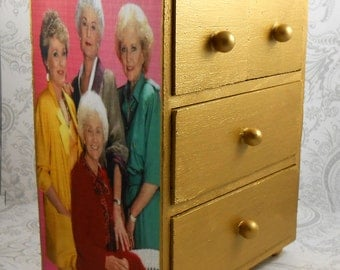 Custom Golden Girls Stash Jewelry Box