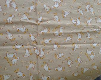 Fabric Scrap Quack Ducks