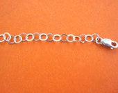 Sterling Silver Chain Extender 2 inches