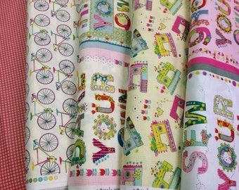 SALE - Homegrown - For Blend - Half Yard Set - 4 Prints - 17.00 Dollars